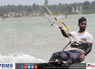 Kite Surfing Kalpitiya Lagoon Challenge