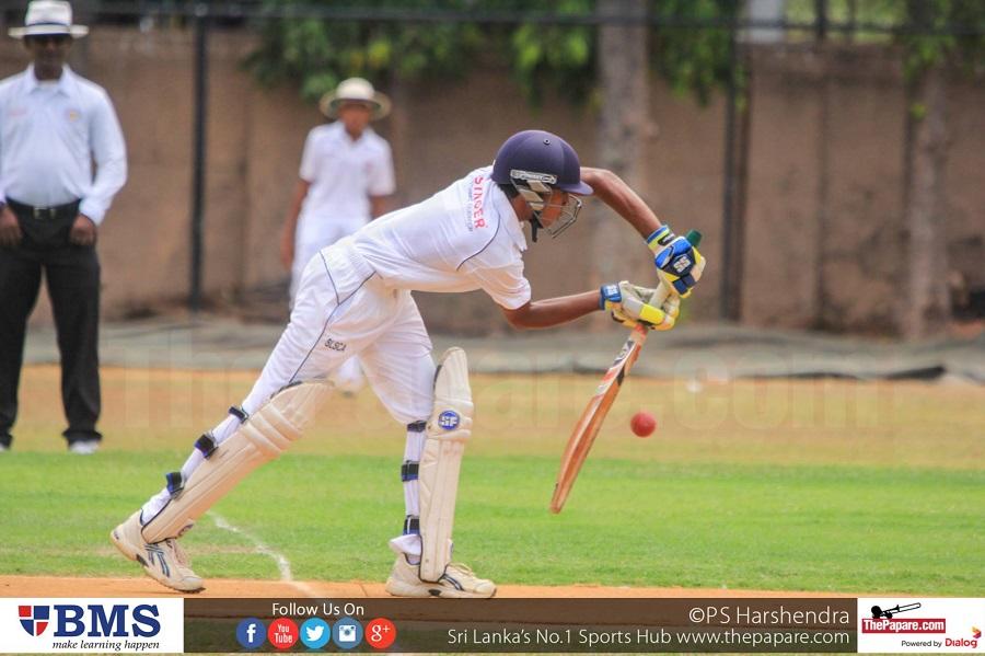 U13 Singer Cup Schools Cricket