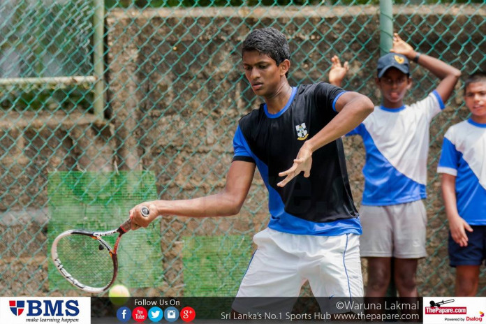 Royal Thomian tennis encounter