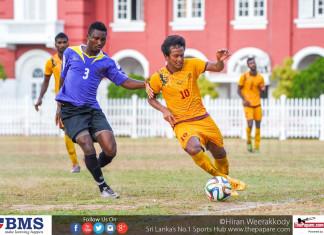 Sri Lanka National Football Team and Foreigners XI