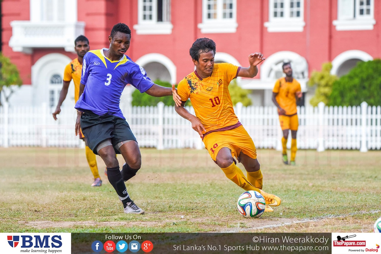 Sri Lanka National Football Team and Foreigners XI