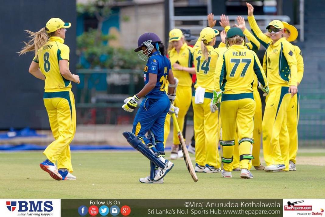 Sri Lanka crash to record loss against Australia