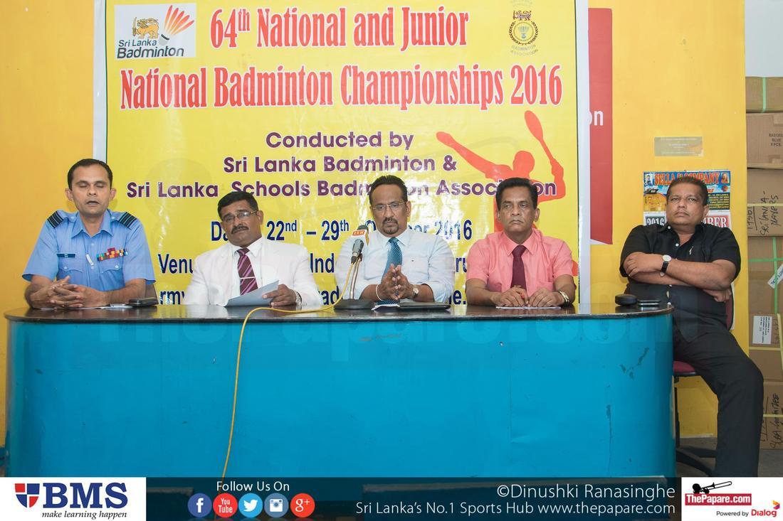 Sri Lanka Badminton Nationals 2016 in Kurunegala translation