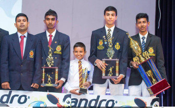 The Andro Table Tennis Awards Ceremony