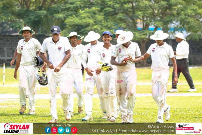 Singer U19 schools Cricket January 19th roundup
