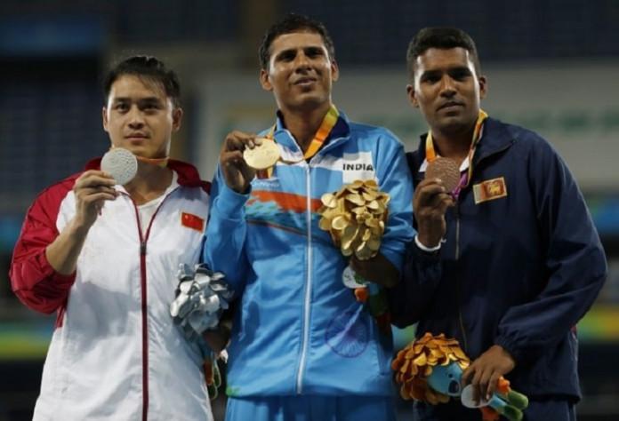 Paralympic medalist Dinesh Priyantha