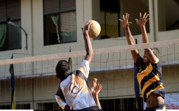 10th Blue Gold & Blue Volleyball Tournament 2016 - Day 2