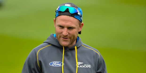 Brendon McCullum is likely to sit out the third ODI in Nelson. Photo / photosport.nz