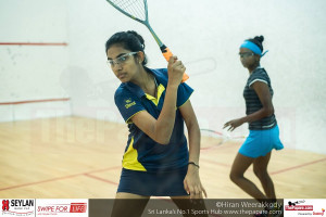 Sri Lanka Junior Champion Mihiliya Methsaranie in action
