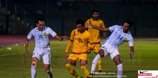 Sri Lanka v Malaysia International Football Friendly