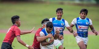 Sri Lanka Vs Malaysia - Asia U19 Rugby Championship 2016
