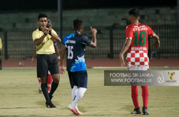 Referee Irshad Farook missed two red cards in Super League pre Season 2021