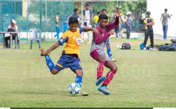 St.Peter's College v Nalanda College - Schools Football 2016