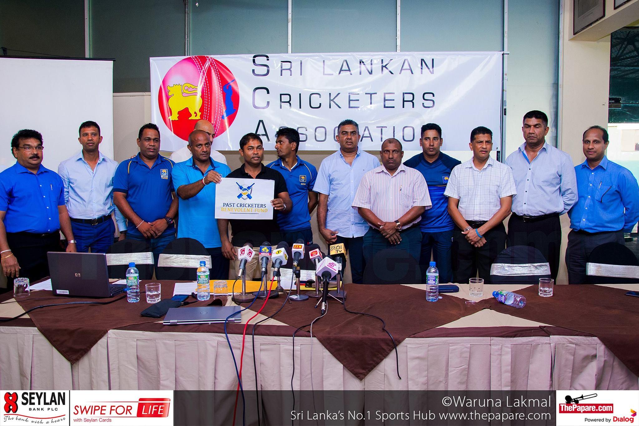 Sri Lankan Cricketers Association launches Benevolent Fund