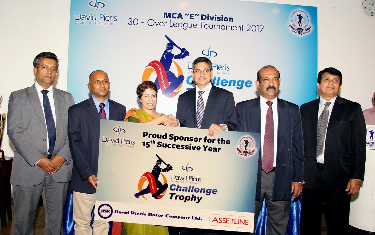 David Pieris to power MCA 'E' Division League
