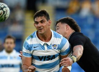 Pablo Matera is one of six Argentina players stuck in northern New South Wales.