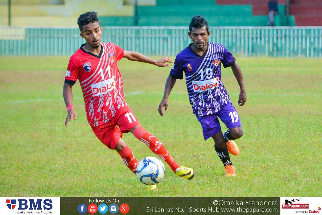 Up Country Lions SC vs Crystal Palace SC (Dialog Champions League 2016)