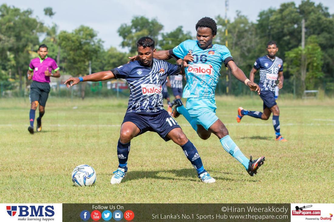 Negombo Youth v Blue Star SC (Dialog Champions League 2016)