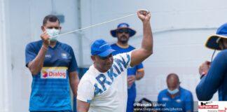 Photos: Sri Lanka Greats XI training ahead of the Covid Charity match
