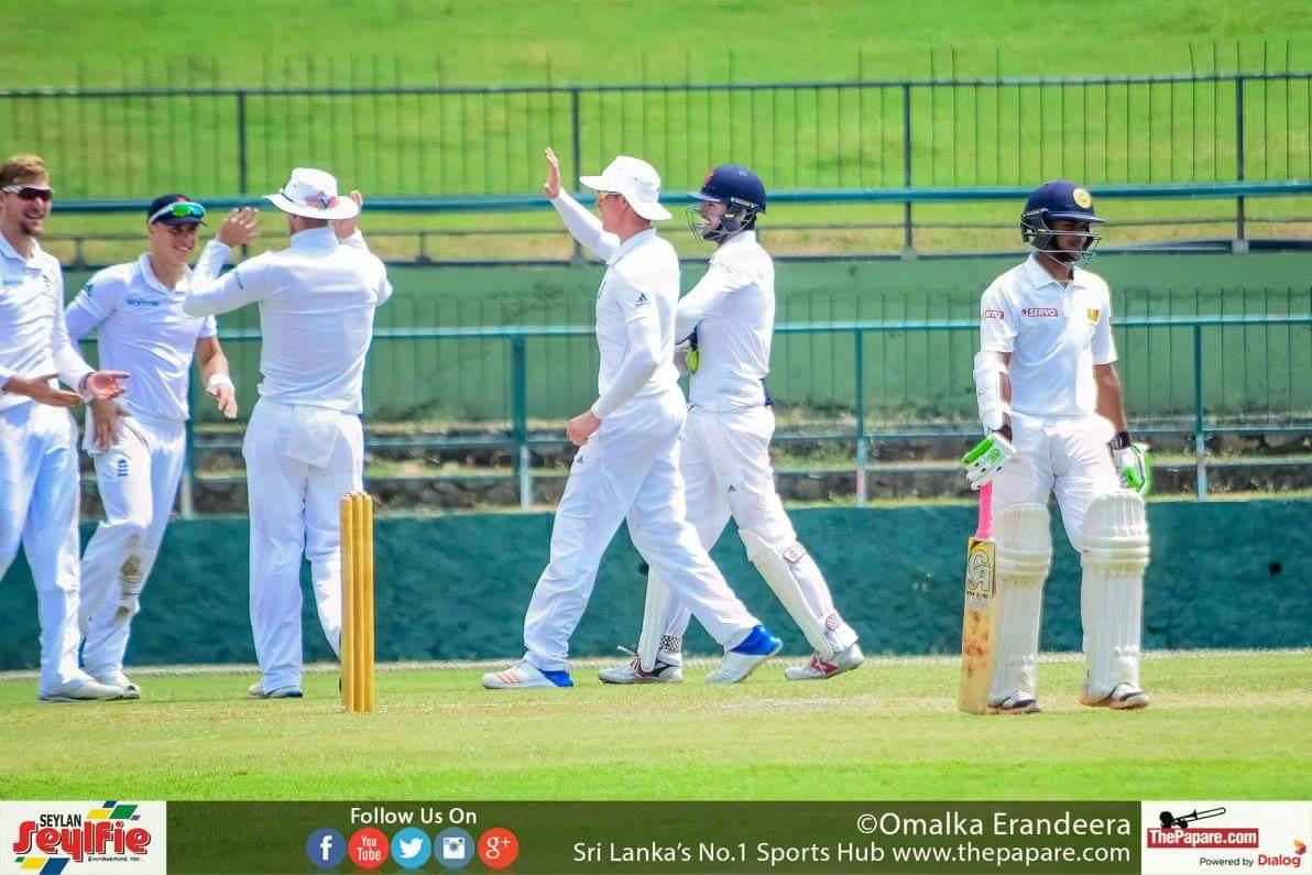 Sri Lanka A v England Lions 1st 4 day Test match Day 3 report