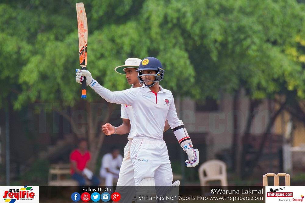 Royal College v Trinity College - U19 Schools Cricket