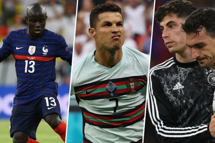Hungary v Portugal & France v Germany