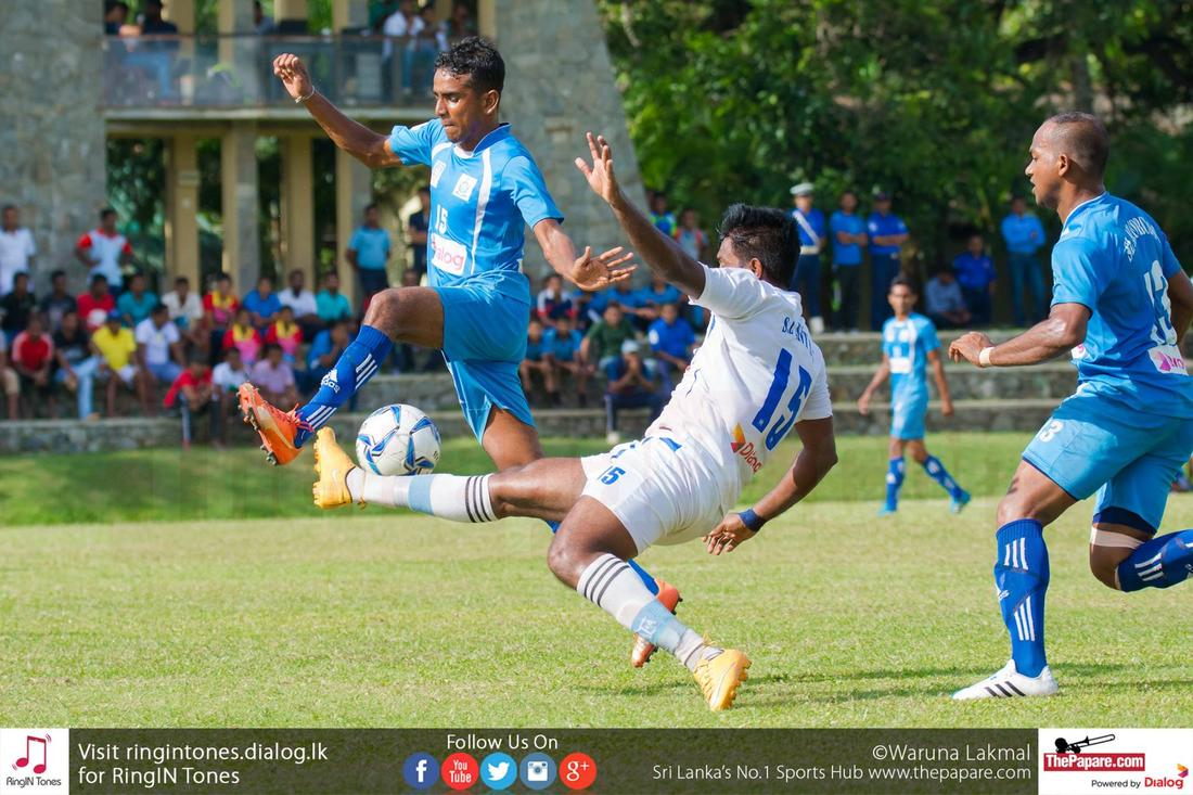 Navy SC v Air Force SC (Dialog Champions League 2016)