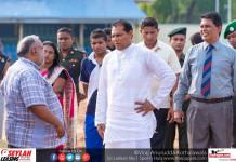 Sports Minister Inspects Sugathadasa Stadium