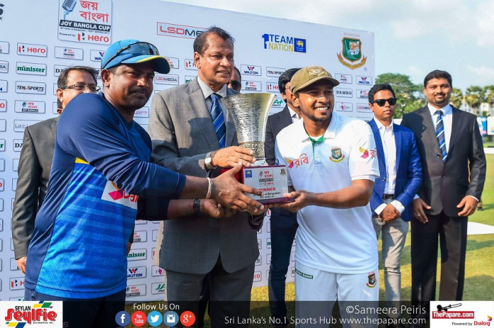 Sri Lanka v Bangladesh 2nd test day 5 report