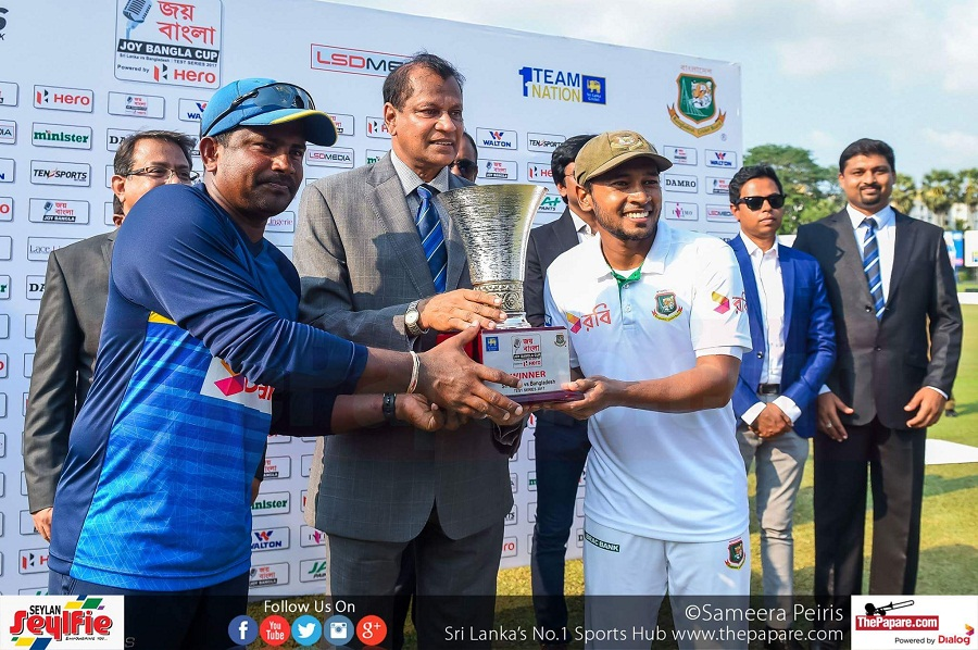 Sri Lanka v Bangladesh 2nd test day 5 report