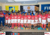 Manchester united football academy opening press con