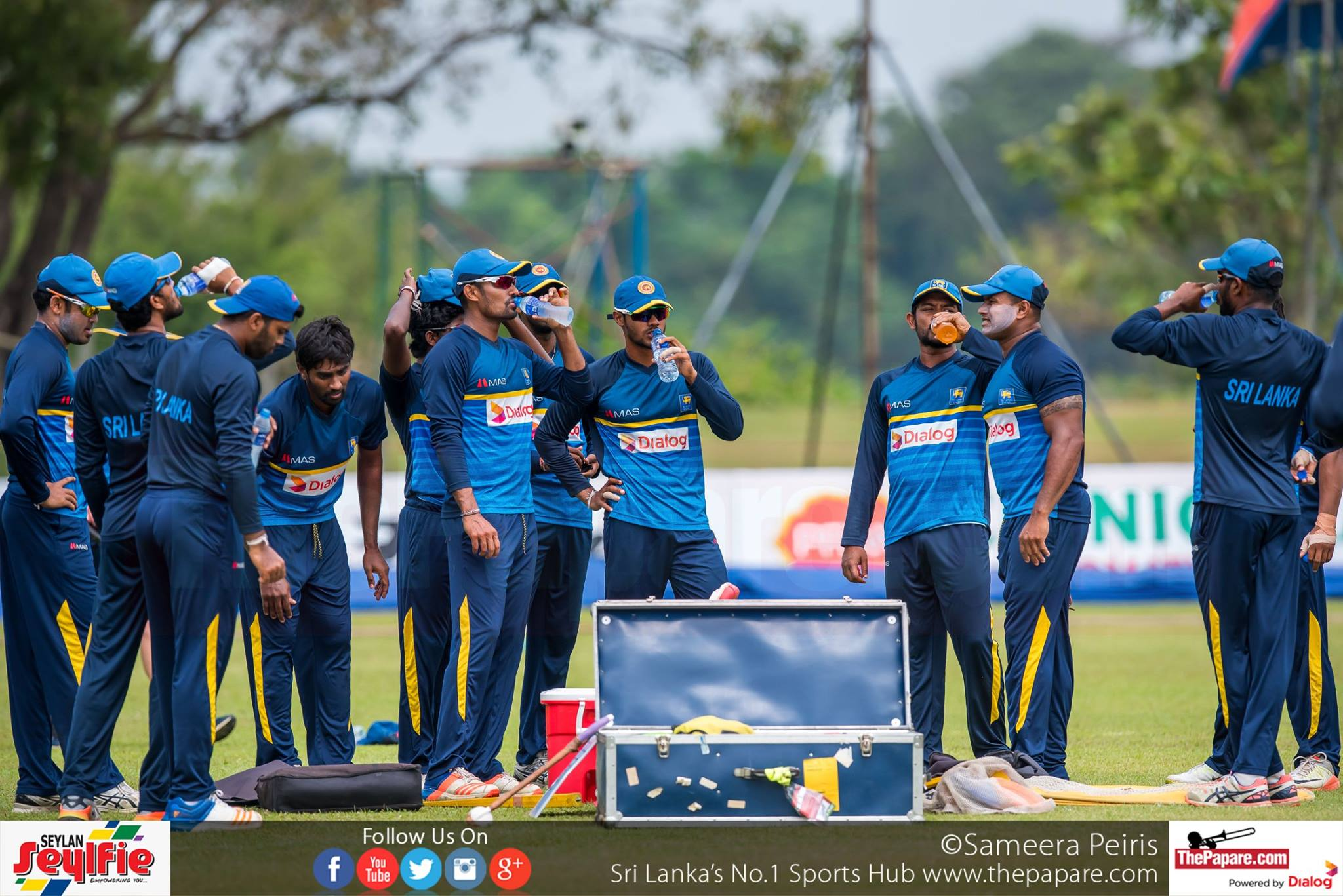 Sri Lanka to train in Diyatalawa & Kandy ahead of Champions Trophy