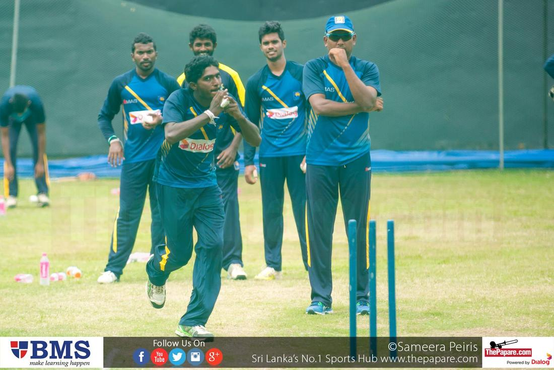 Sri Lanka Team Practices Ahead of 2nd ODI