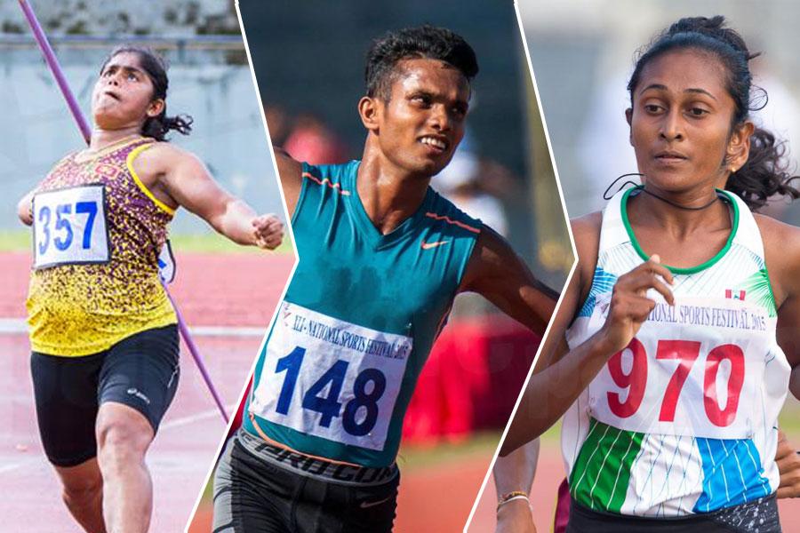 18 medals for Sri Lanka