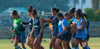 Sri Lanka Ladies Last Training Before Hong Kong 7s