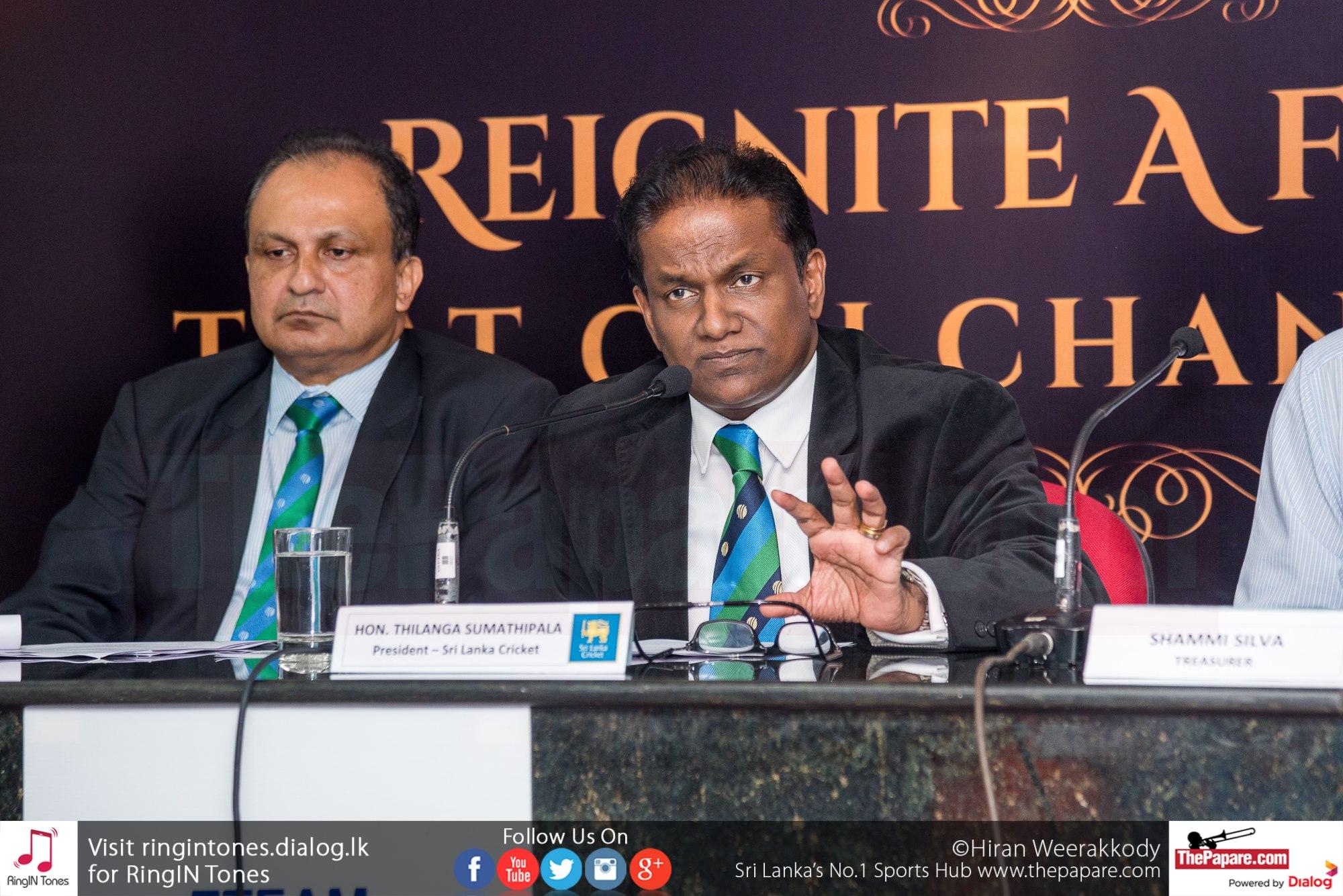 SLC Cricket Aid - Press Conference