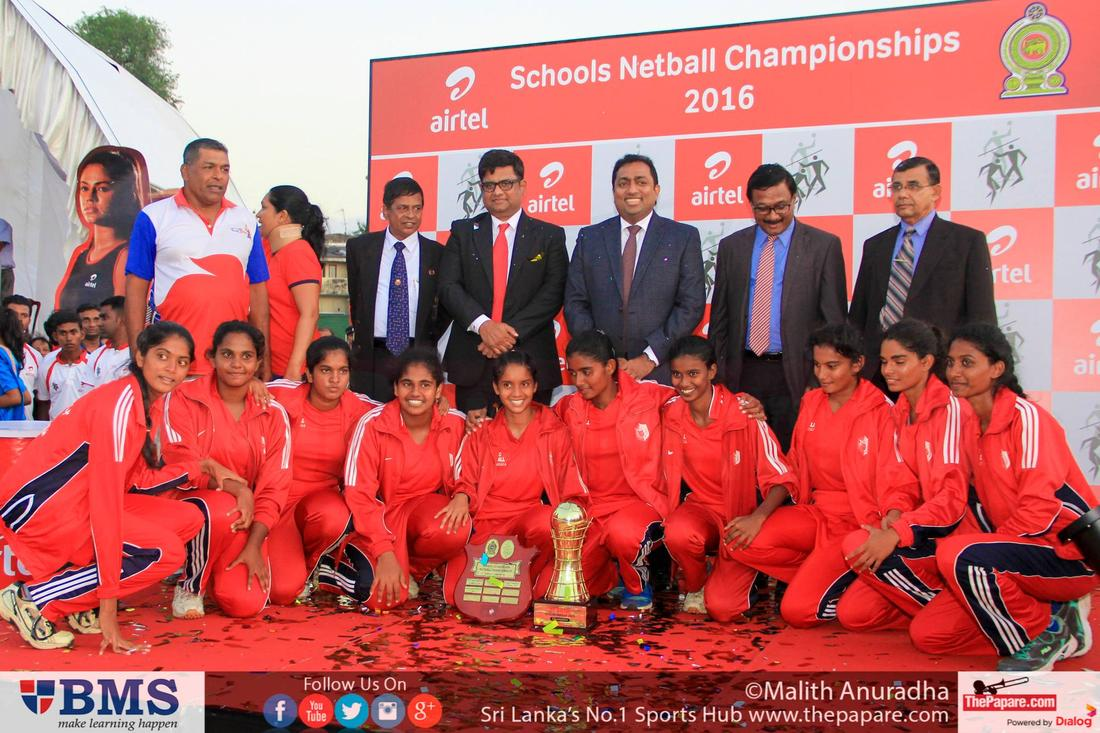 Netball - All Island National School Games 2016 (Final Day)
