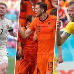 Ukraine v North Macedonia, Denmark v Belgium, Netherlands v Austria