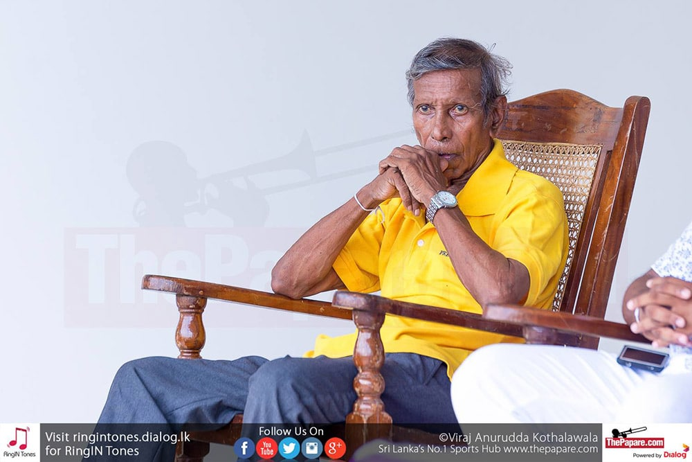 Sri Lanka's 'Godfather of Football' P.D.Sirisena passes away