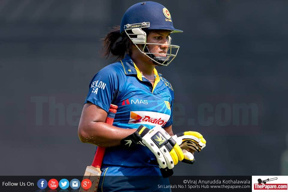 Batting lets down Lankan lasses yet again