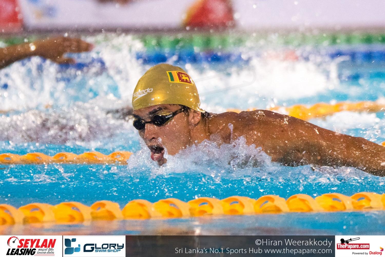South Asian Aquatic Championship 2016 - Day 3