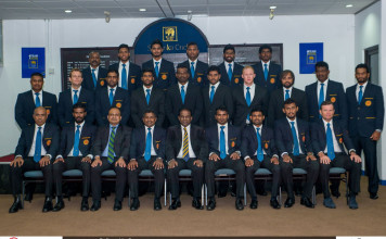Sri Lanka Team departure for Zimbabwe 2016