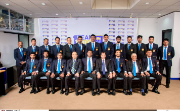 Photos of the Sri Lanka Team Departure For South Africa