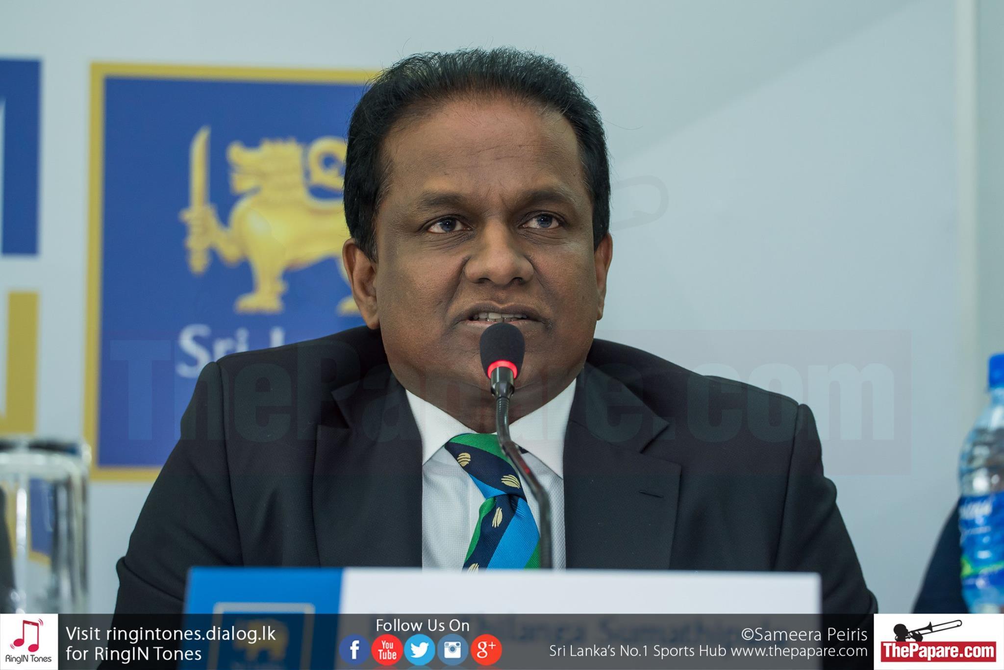 Thilanga Sumathipala I will not resign until 2019 World Cup Thilanga Sumathipala