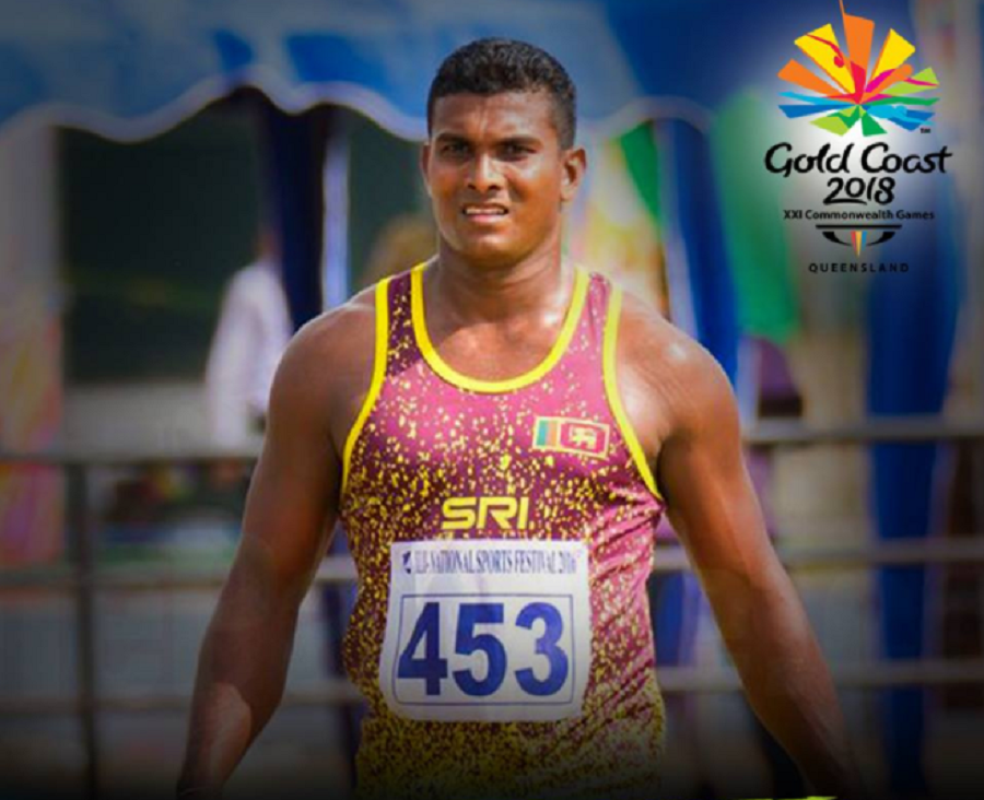 Commonwealth Games; Sampath Ranasinghe to Javelin finals
