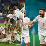 Sweden vs Spain & Belgium vs Italy