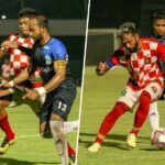 Referee Irshad Farook missed two red cards
