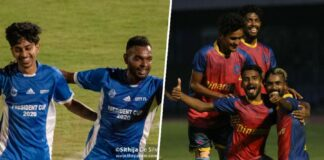 Sea Hawks FC vs Up Country Lions FC & Ratnam SC vs Renown SC