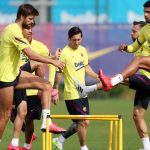 Five barcelona players tested positive