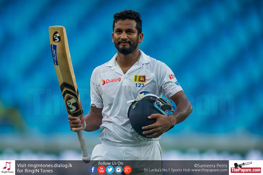 Karunaratne reaches career high Test ranking